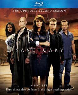 Sanctuary: Season 2 (Blu-ray Disc)