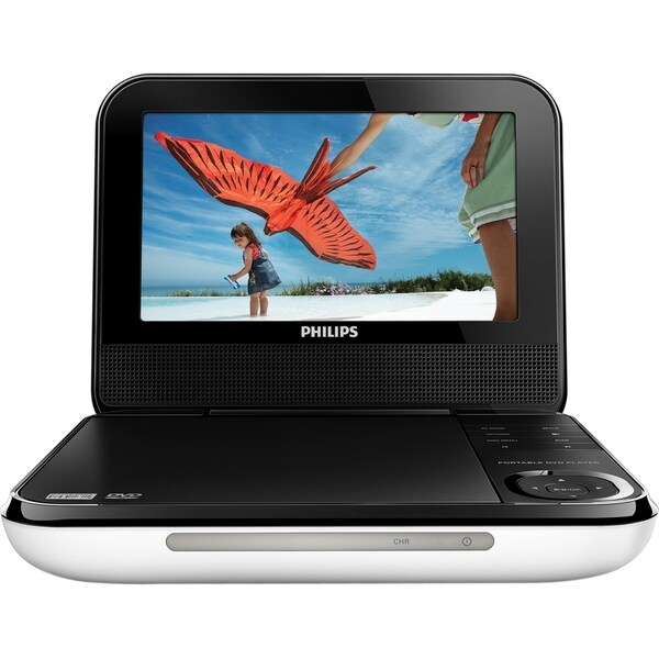 "Philips PD700 Portable DVD Player - 7"" Display"