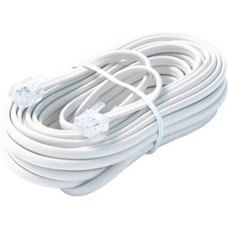 Steren BL-324-100WH Premium Telephone Line Cable