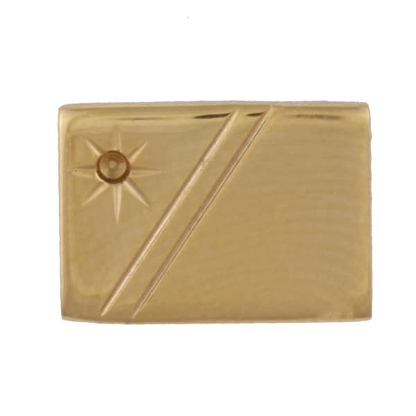Colibri Goldtone Diamond Accent Tie Tac