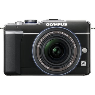 Olympus PEN E-PL1 12.3 Megapixel Mirrorless Camera - 14 mm - 42 mm -