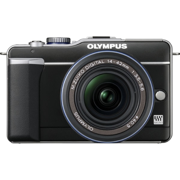Olympus PEN E-PL1 12.3 Megapixel Mirrorless Camera with Lens - 14 mm