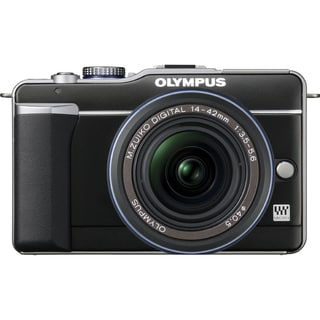 Olympus PEN E-PL1 12.3 Megapixel Mirrorless Camera Body Only - Black
