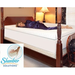 Slumber Solutions Highloft Supreme 2-inch Memory Foam Mattress Topper