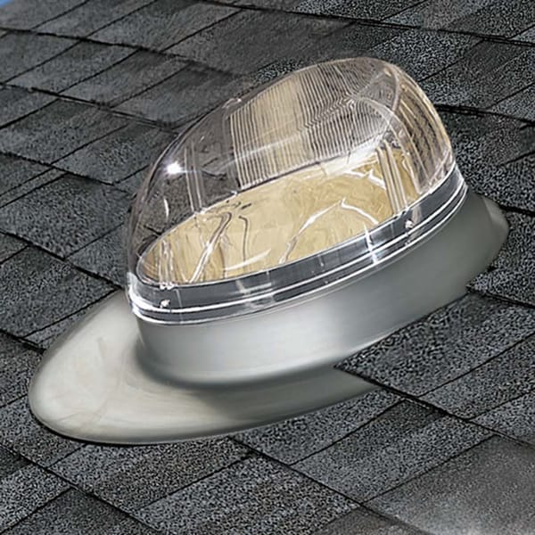ODL 14-in Severe Weather Tubular Skylight w/ Aluminum Flashing
