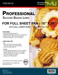 Full Sheet Silicone Baking Liner