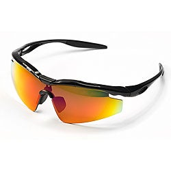 Barska HD Sports Sunglasses with 3 Polarized Lenses