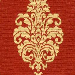 Safavieh Indoor/ Outdoor St. Martin Red/ Natural Rug (2'7 x 5')