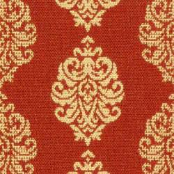 Indoor/ Outdoor St. Martin Red/ Natural Runner (2'4 x 9'11)