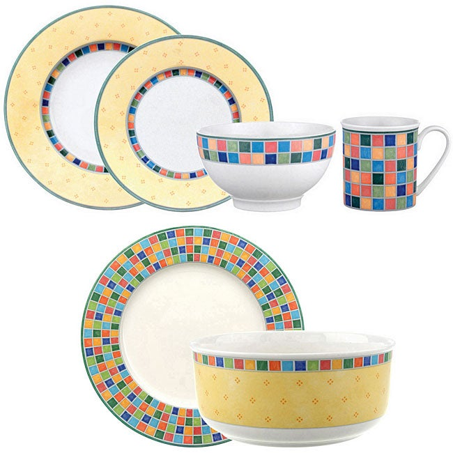 Villeroy & Boch 'Twist Alea' 18-piece Dinnerware Set