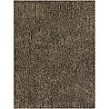 Hand-woven Mandara New Zealand Wool Shag Rug (8' x 10')