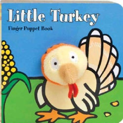 Little Turkey Finger Puppet Book (Board book)