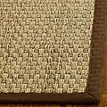 Safavieh Hand-woven Sisal Natural/ Brown Seagrass Rug (6' Square)