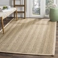 Hand-woven Sisal Natural/ Beige Seagrass Rug (8&#39; Square)