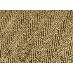 Hand-woven Sisal Natural/ Red Seagrass Rug (5' x 8')