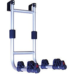 Swagman Aluminum/Foam Easy-to-install Two-strap RV Ladder Bike Rack