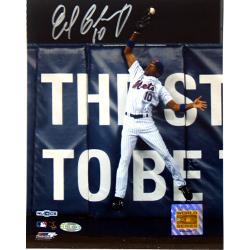 New York Mets Endy Chavez Game 7 Robbing Home Run 8x10 Photo