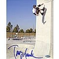 Skateboarder Tony Hawk 'Up The Wall' Signed 8x10-inch Photograph