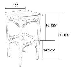 Leilia Bar Stool