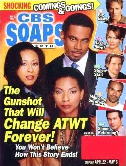 Soaps In Depth - CBS, 24 issues for 1 year(s)