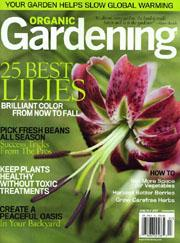 OG (Organic Gardening) Magazine, 6 issues for 1 year(s)