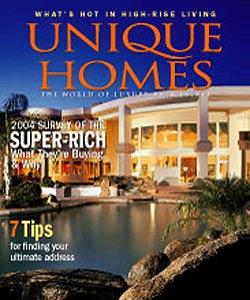 Unique Homes, 6 issues for 1 year(s)