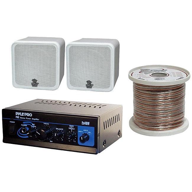PylePro 4-inch 200 Watt Bookshelf Speaker System