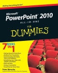 PowerPoint 2010 All-in-One For Dummies (Paperback)