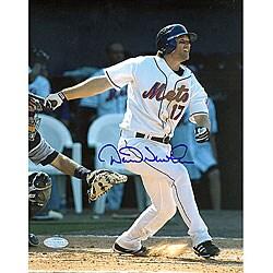 New York Mets David Newhan Batting 8x10 Signed Photograph