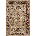 Safavieh Handmade Bukan Light Green Wool Rug (7'6 x 9'6)