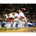 Boston Red Sox Curt Schilling Triple Exposure 8x10 Signed Photo