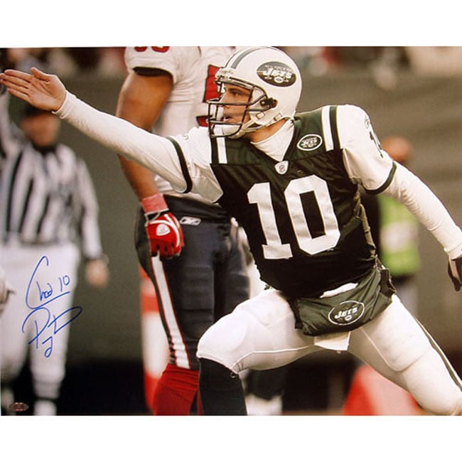 Chad Pennington First Down Point 8x10 Signed Photograph