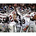 Antonio Pierce Hand-signed Super Bowl XLII Huddle 8x10 Photo