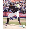 New York Mets Orlando Hernandez Signed 8x10 Photograph