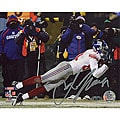 Amani Toomer Autographed NFC Championship Game Diving Catch Photo