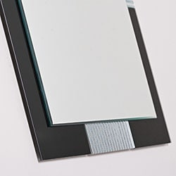 Francisco Large Frameless Wall Mirror