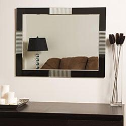 Francisco Large Frameless Wall Mirror