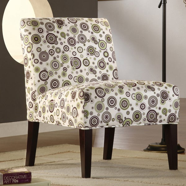 TRIBECCA HOME Decor Bubble Print Lounge Chair