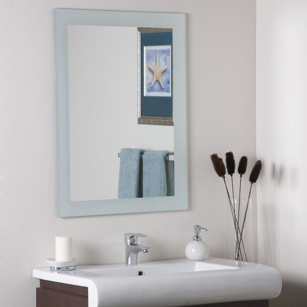 Sands Frameless Wall Mirror