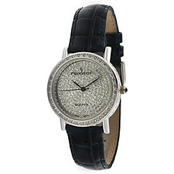 Peugeot Women's Silvertone Evening Watch