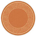 Indoor/ Outdoor Paradise Terracotta/ Natural Rug (6'7 Round)