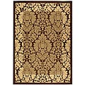Indoor/ Outdoor Kaii Brown/ Natural Rug (4' x 5'7)