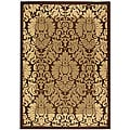 Indoor/ Outdoor Kaii Brown/ Natural Rug (6'7 x 9'6)