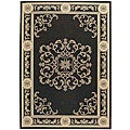Safavieh Indoor/ Outdoor Sunny Black/ Sand Rug (9' x 12')