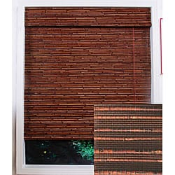 Rangoon Bamboo Roman Window Shade (26 in. x 98 in.)