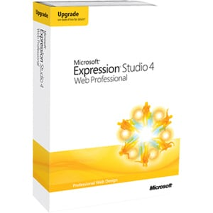 Microsoft Expression Studio v.4.0 Web Professional - Upgrade Package