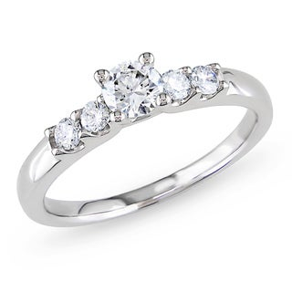 Miadora 14k Gold 1/2ct TDW Diamond Engagement Ring (H-I, I1-I2)