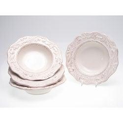 Certified International Firenze Ivory 9.75-inch Soup Bowls (Set of 4)