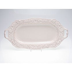 Certified International Firenze Ivory Handle Fish Platter