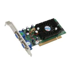 Jaton 228PCI 128MB Dual VGA TWIN FX5200 PCI Video Card (Refurbished)